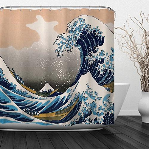 home bathroom decorative polyester fabric