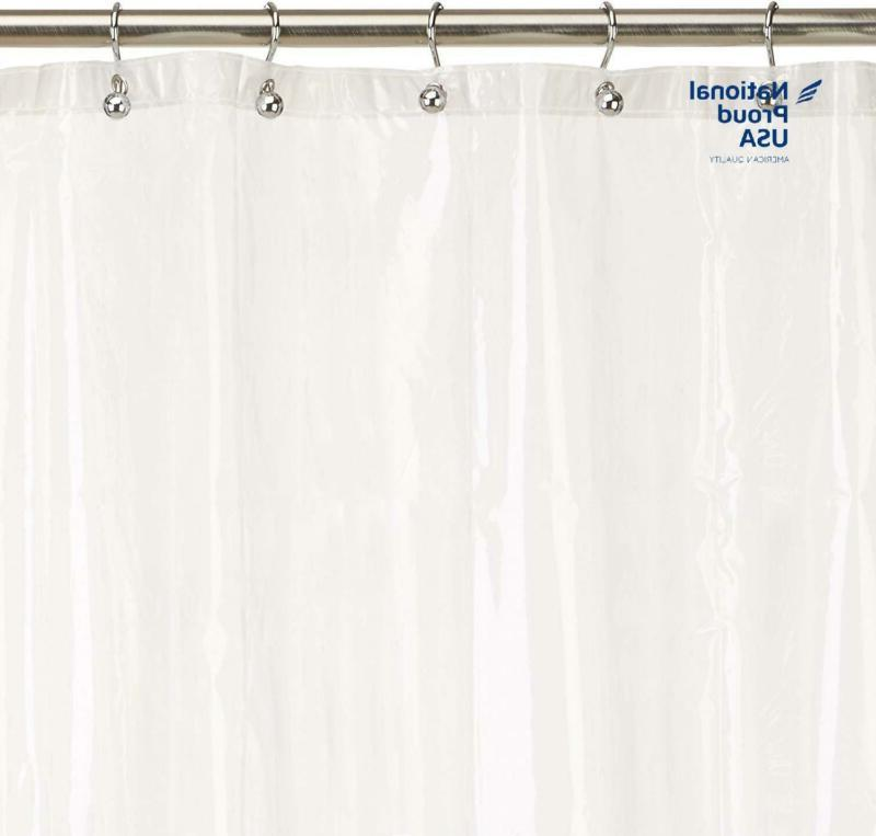 Excell Home Fashions Eco Soft Peva Shower Curtain Liner