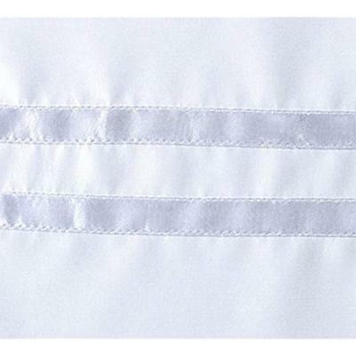"""Hookless HBH40MYS0101SL77 Escape Curtain Snap-In White 71"""" X"""