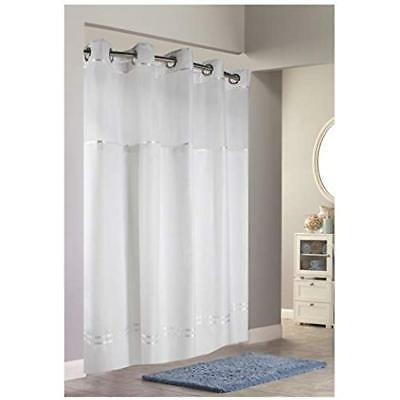 """Hookless Curtain White 71"""" X"""