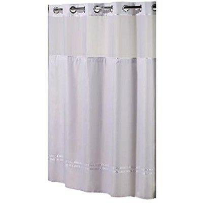 hookless hbh40mys0101sl77 escape shower curtain with snap