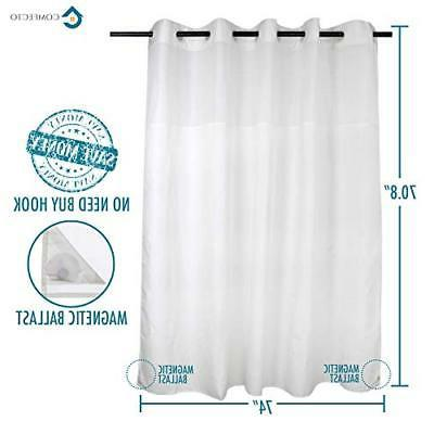 Hookless Polyester Curtain Hotel with