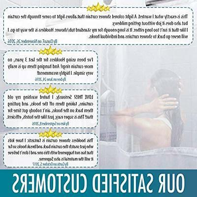 Hookless Shower by COMFECTO, Hotel with -
