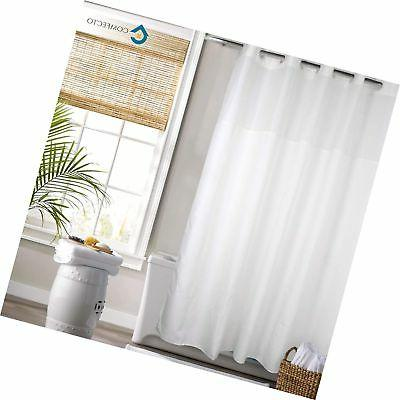 Hookless Shower Curtain by COMFECTO Waterproof Polyester 70x