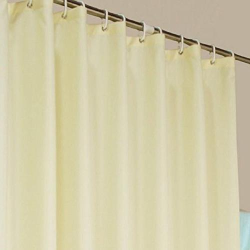 hotel fabric shower curtain stall