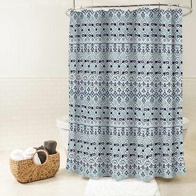 "Splash Home Fabric Curtain, x 72"","