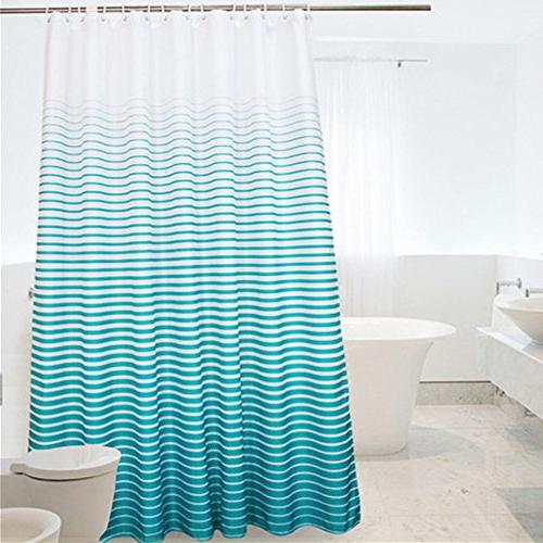 inch shower curtain ombre stipes