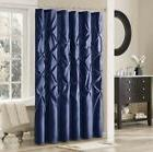 Madison Park LAUREL Fabric Polyoni Mushroom Shower Curtain-7