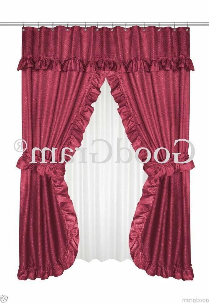 Lauren Double Swag Curtain - Assorted
