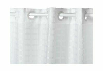 Hookless 71-by-74-Inch Shower Curtain,