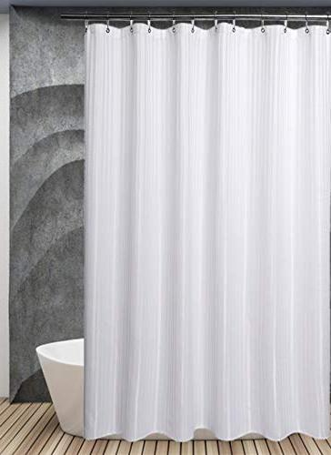 """Barossa Long Curtain inches Hotel Grade, and Midew White Stripe 71""""x78"""""""