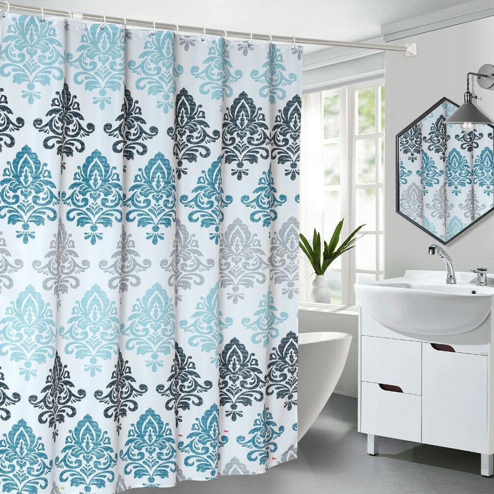 Luxury shower Curtain Blue /