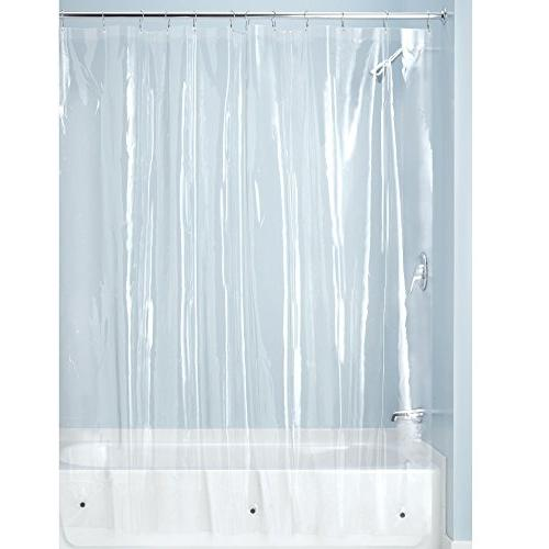 "mDesign - - Waterproof, Curtain Liner Showers Bathtubs No Odor, - 3 Gauge, 72"" x 72"" -"