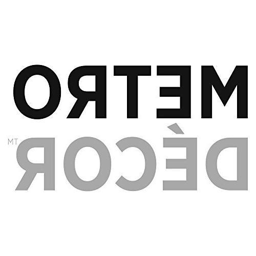 "mDesign Satin Fabric Shower Long 72"" x White"