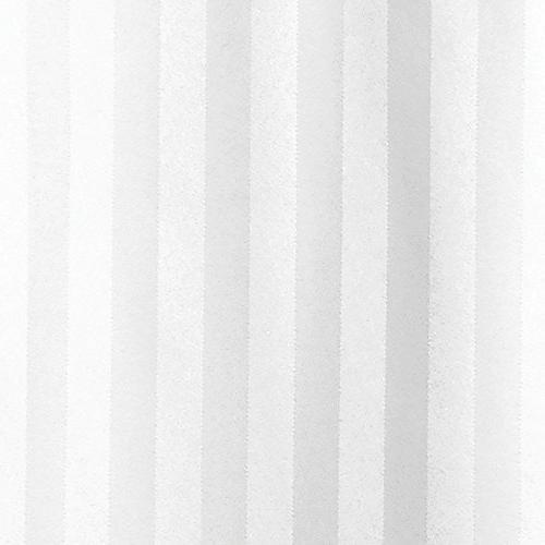 """mDesign Satin Shower Long x 84"""", White"""