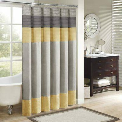 Madison Park Mp70 2489 Amherst Shower Curtain 72x72 Yellow72x72