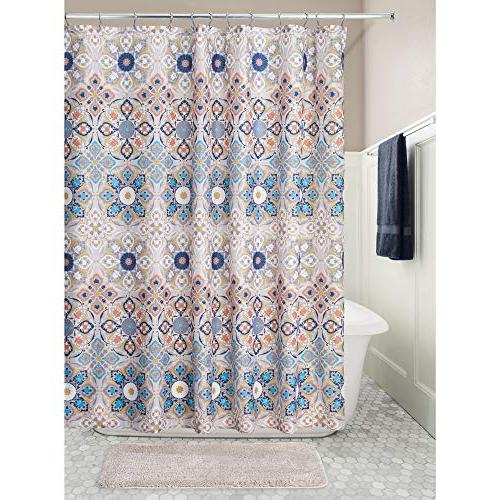 mDesign Print, Curtain for Bathroom Stalls and Machine -
