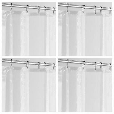 long peva shower curtain liner for bath