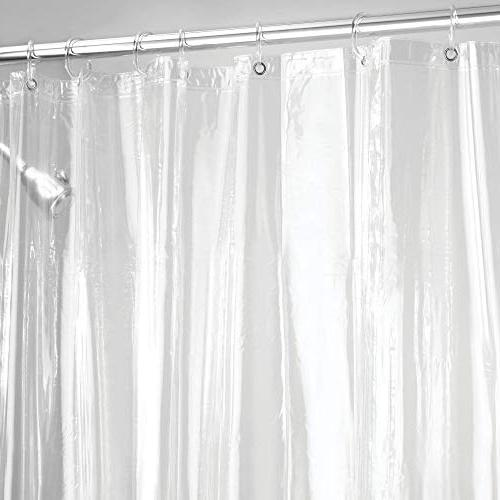 """mDesign - Waterproof, Resistant, Quality Curtain Liner for Shower - 72"""" x -"""