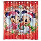 Mickey Mouse Minnie Mouse Merry Christmas Bathroom Shower Cu