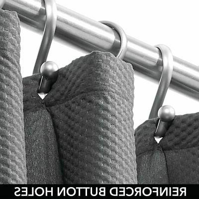 "mDesign Fabric Curtain, 72"" x"