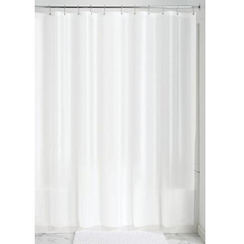 "InterDesign EVA Gauge Curtain Liner, 72"" x 96"" - White"