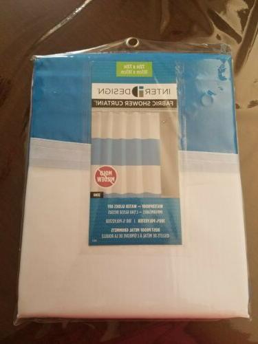 mildew free water repellent zeno fabric shower