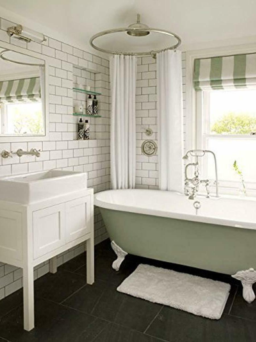 Liba Mildew Bacterial Shower Curtain Non Toxic