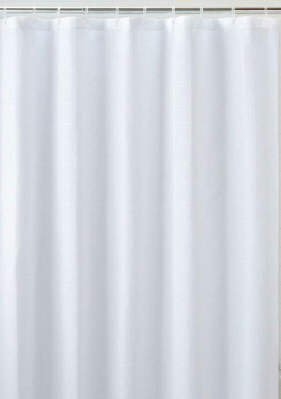 Liba Mildew Resistant Fabric Shower Curtain And Antimicrobia