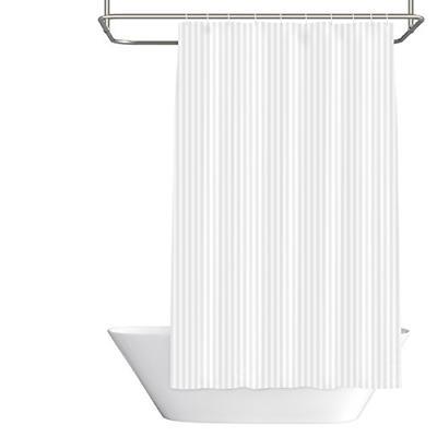 mildew resistant fabric shower curtain waterproof water