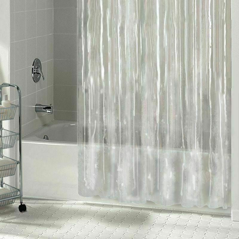 Mildew Shower Curtain Metal