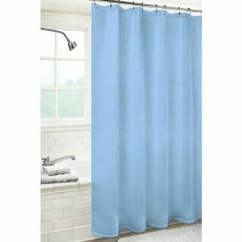 Heavyweight Shower Curtain Liner Metal