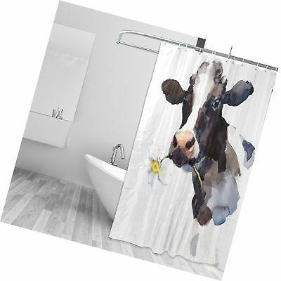 ALAZA Milk A Curtain wi...