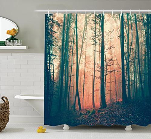 mystic house decor shower curtain