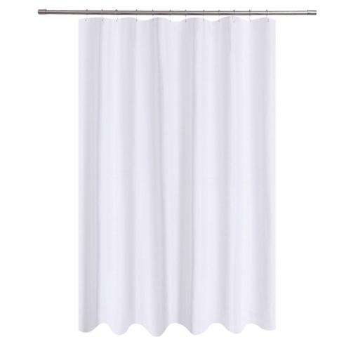 Shower Curtain 96 Inches Long White Shower Curtain