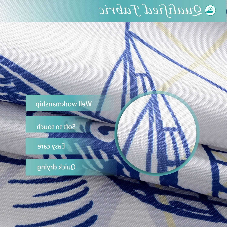 Nautical Fabric, Water-repellent, Mildew Resistant