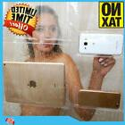 New Clear Shower Curtain Liner Bath Waterproof 9 Pocket iPho
