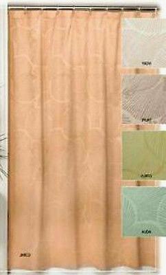 NEW Creative Bath Products SANIBEL Shells Fabric Shower Curt