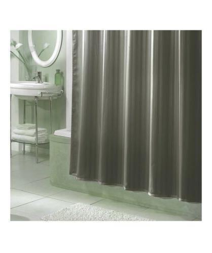 nip damask stripe fabric shower curtain liner