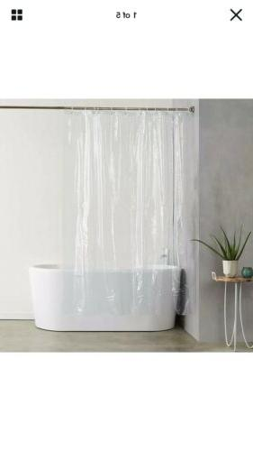 NWP AmazonBasics Heavyweight PVC Shower Curtain Liner With