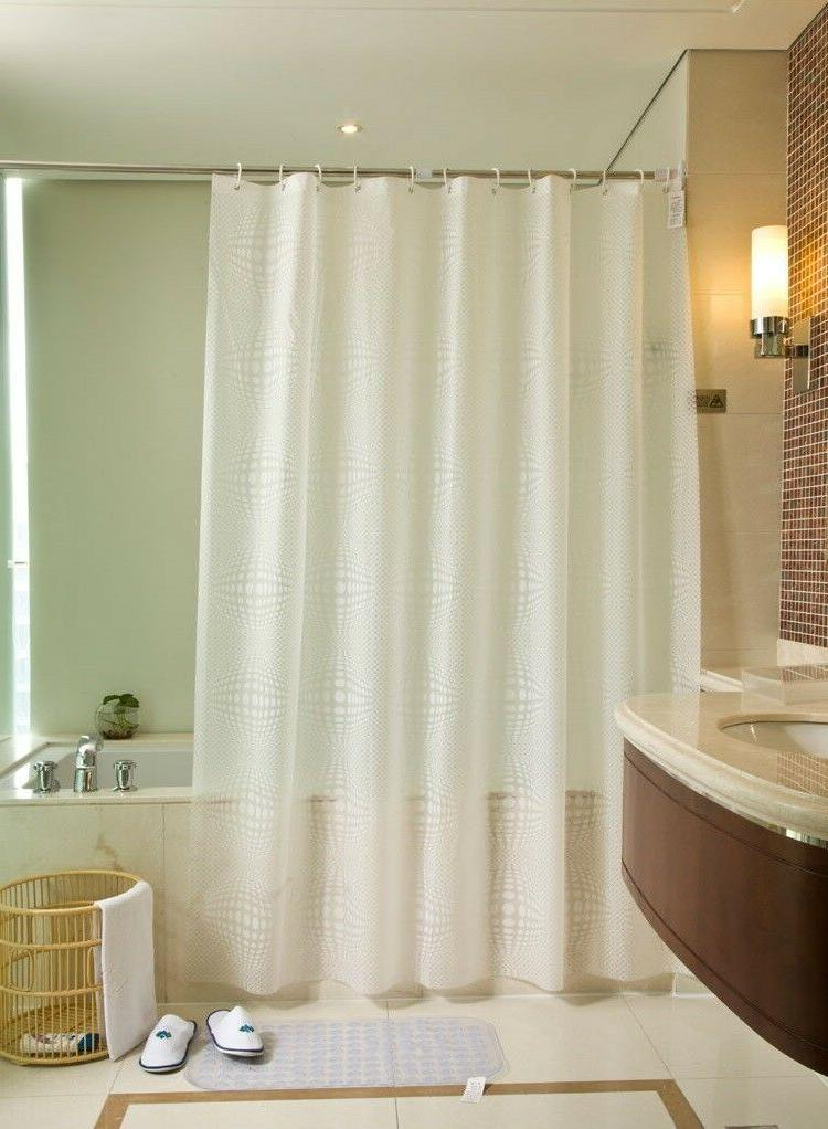 peva shower curtain liner clear mildew resistant