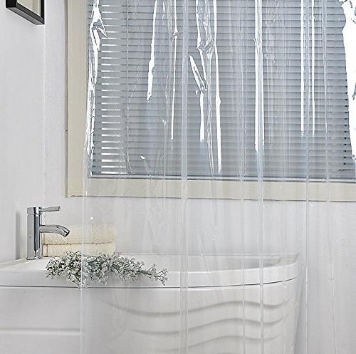 peva shower curtain liner water