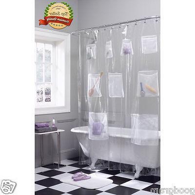 peva vinyl shower curtain liner with mesh
