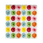 Maytex Photoreal Gerber Daisy Waterproof Peva Shower Curtain