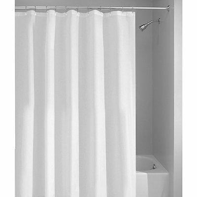 poly shower curtain liner extra long 72