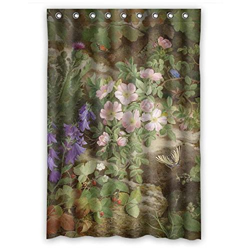 polyester shower curtains famous classic