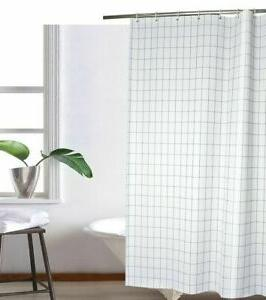 Hookless RBH40BBS01 Polyester Snap-In Shower Curtain Liner,
