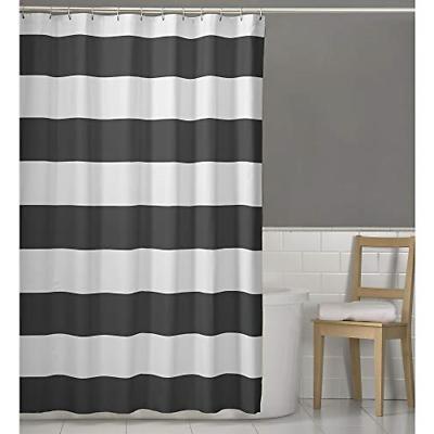 porter fabric shower curtain