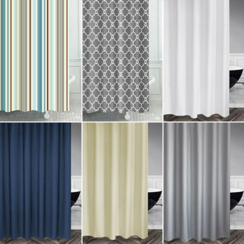 premium fabric shower curtain liner with hook