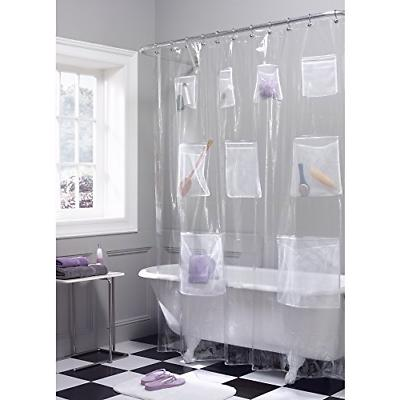 quick dry mesh pockets waterproof peva shower